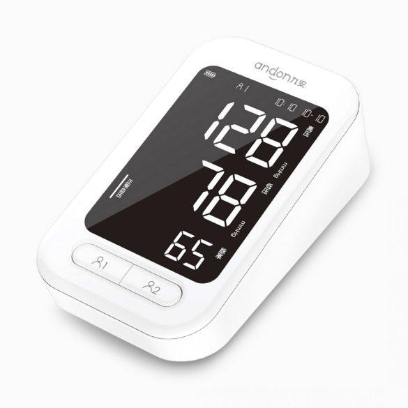 Xiaomi Youpin Andon 5907 - automatický digitálny tlakomer, pulzný oxymeter na sledovanie srdcového tepu, tonometria, tlakomer