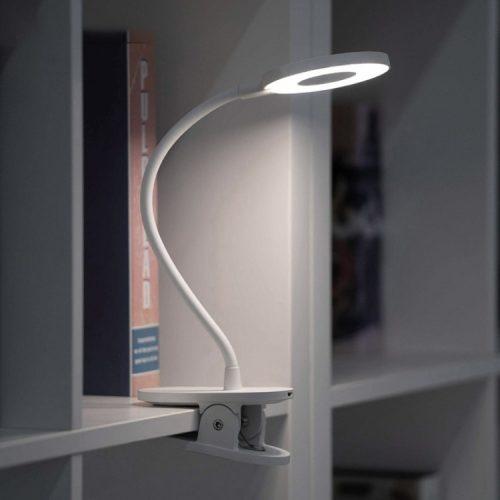 Flexibilná svorková sviečka Xiaomi Yeelight J1 s pevnou svorkou, 3 úrovne jasu, teplota farby 3900 K, ochrana očí, dotykové tlačidlo, voľný uhol