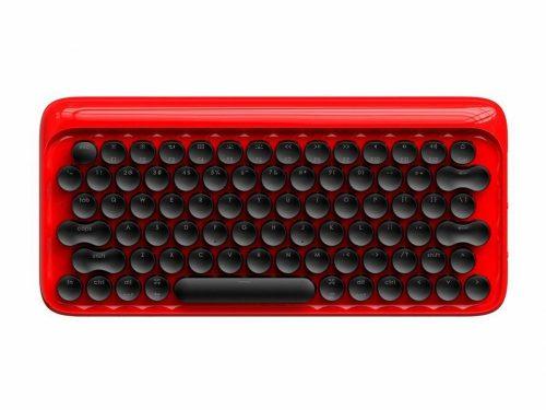 Xiaomi Youpin LOFREE Mechanická klávesnica - mechanická (blue switch keys) RGB LED osvetlenie, káblové a bezdrôtové použitie - červená