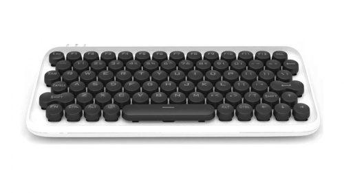 Xiaomi Youpin LOFREE Mechanická klávesnica - mechanická (blue switch keys) RGB LED osvetlenie, káblové a bezdrôtové použitie - biela