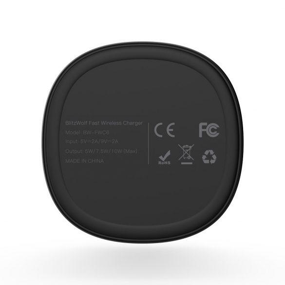 BlitzWolf® BW-FWC6 bezdrôtová nabíjačka so štandardom QI 10W/7.5W/5W