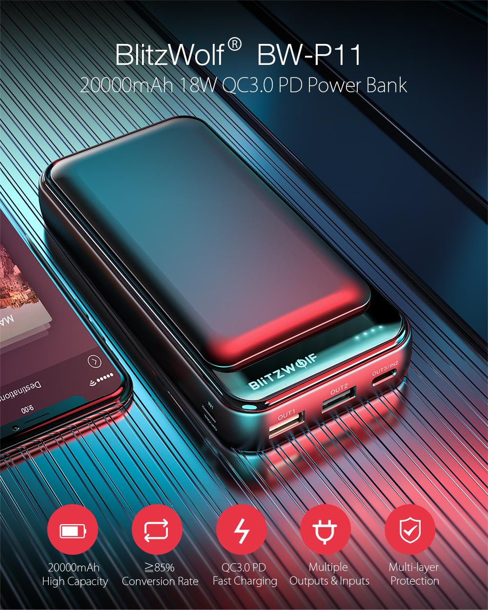 Blitzwolf BW-P11 power bank 20000mAh