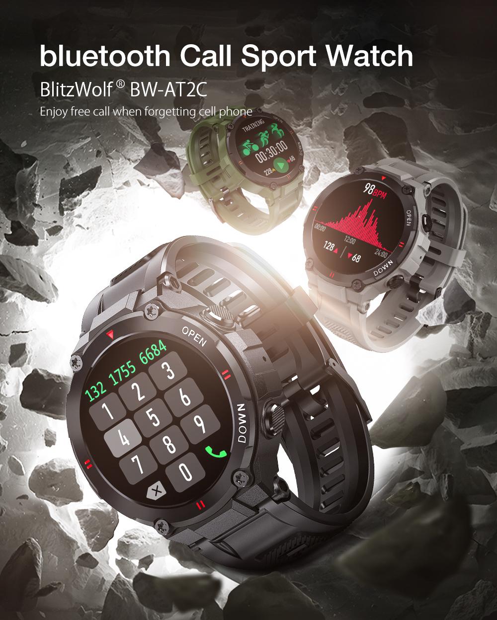 Blitzwolf BW-AT2C okos óra