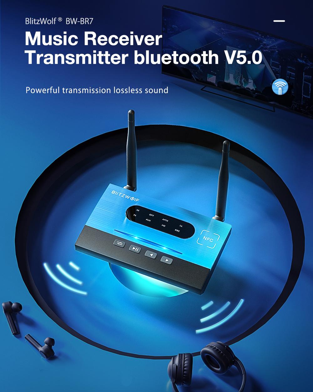 BlitzWolf BW-BR7 audio receiver