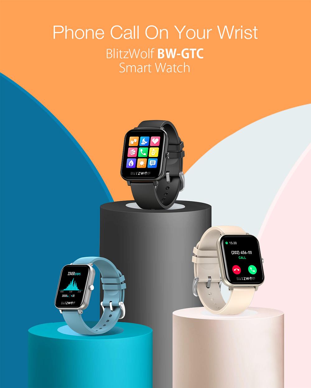 BlitzWolf BW-GTC smart watch